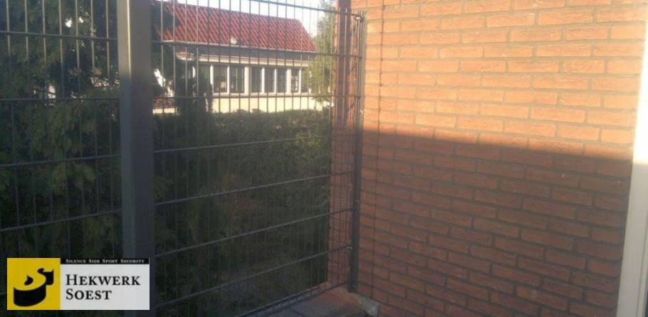 dubbelstaafmat muuraansluiting- hekwerk soest b.v.