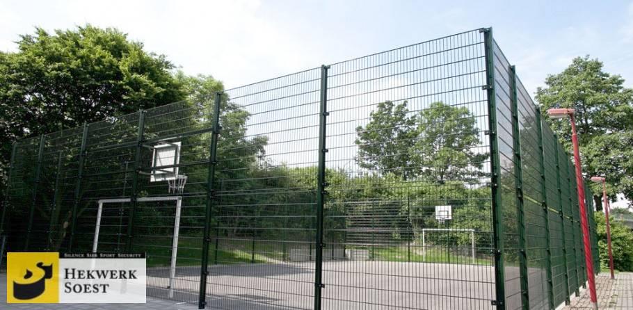 voetbalkooi type silence - hekwerk soest b.v.