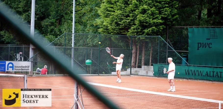hekwerk om tennisbaan sportbenodigdheden - hekwerk soest b.v.