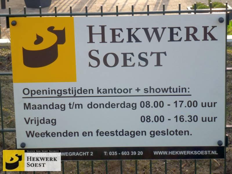 showtuin hekwerk soest openingstijden en adres - hekwerk soest b.v.