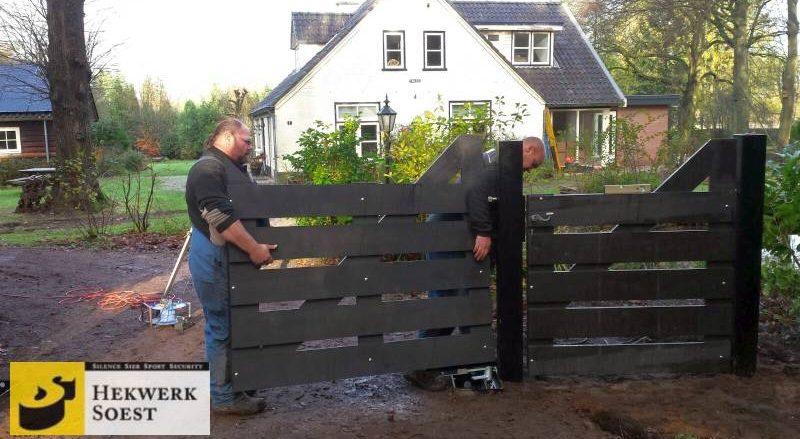hekwerk plaatsen door ervaren hekwerkmonteurs - hekwerk soest bv