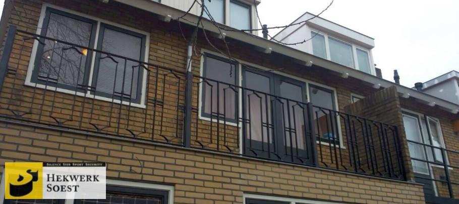 balkonhekwerk voorbeeld - hekwerk soest