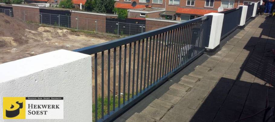 balkonhekwerk op groot balkon - hekwerk soest