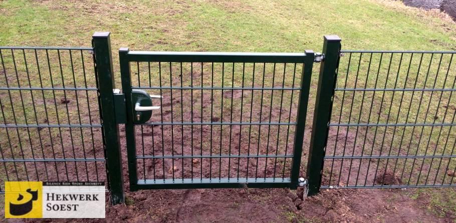 dubbelstaafmat poort