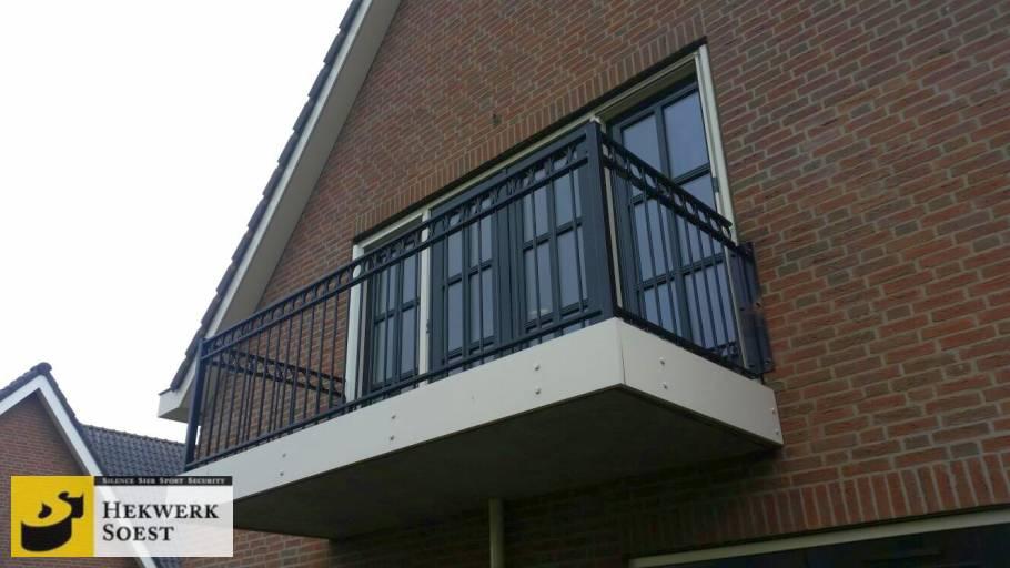 balkonhekwerk project mei 2017