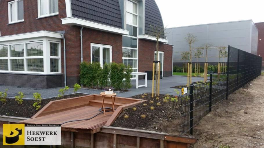 dubbelstaafmat-hekwerk project mei 2017