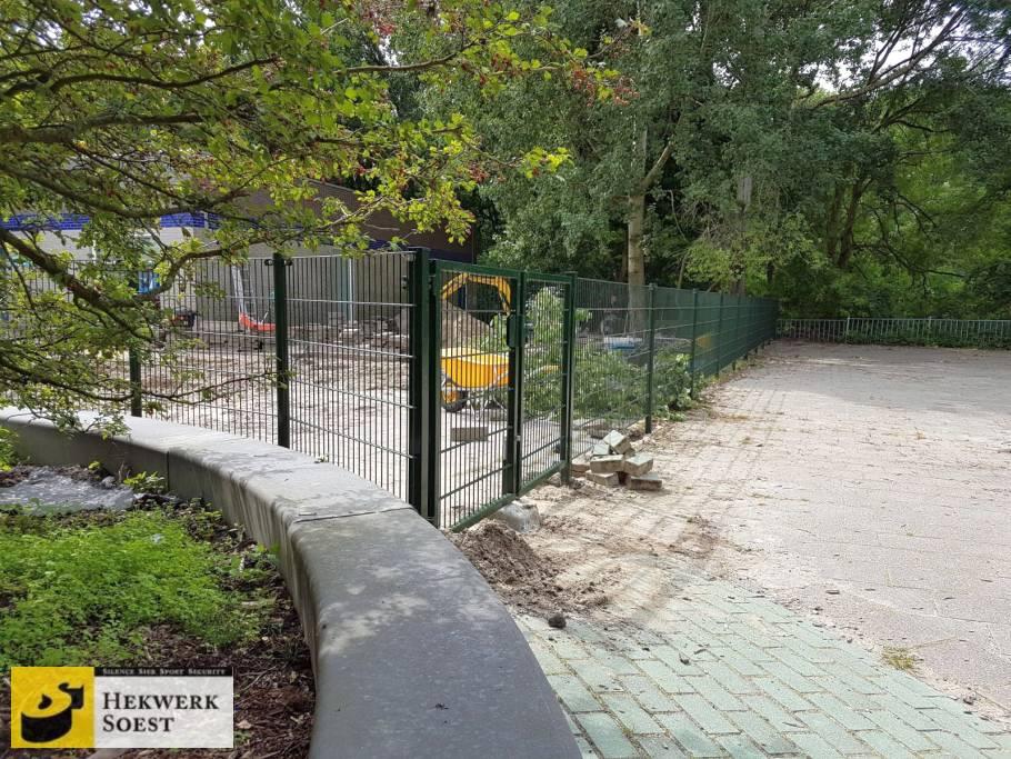 dubbelstaafmat hekwerk en poort project