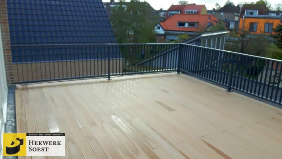 spijlenhekwerk op balkon project